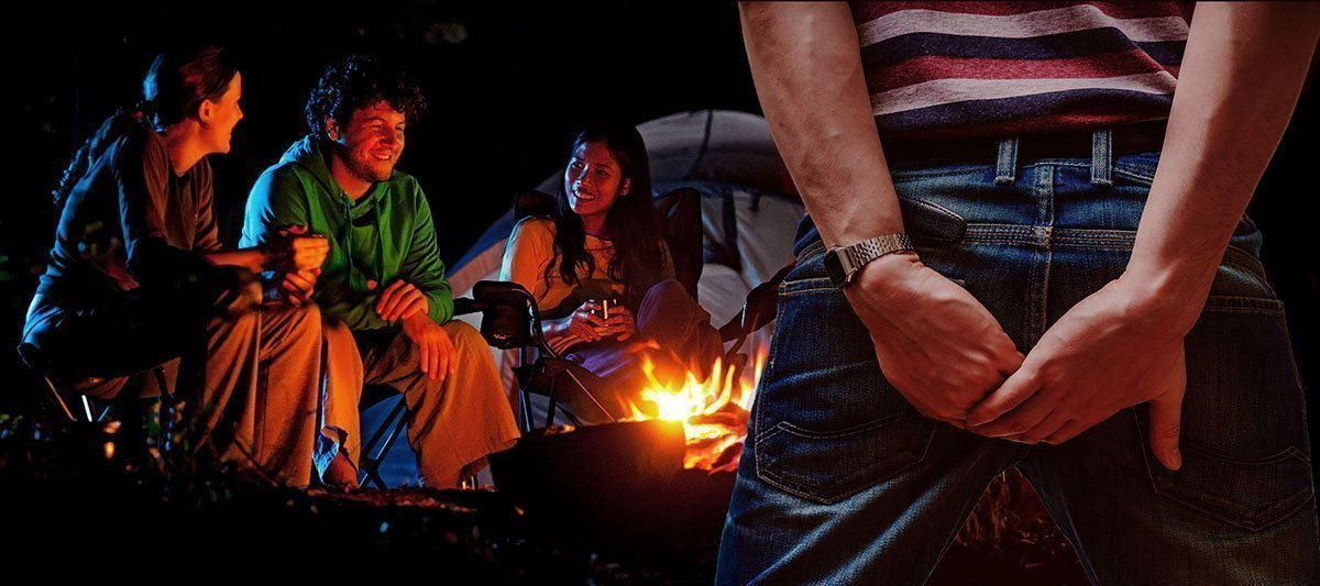 No farting at the campsite - The flatulence rules for camping