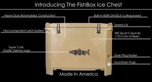 FIshBox Ices Chest - A Huge Cooler With a Tough Shell