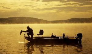 A lot of things shouldn't bother you when you are fishing