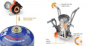 Etek Ultralight Backpacking stove
